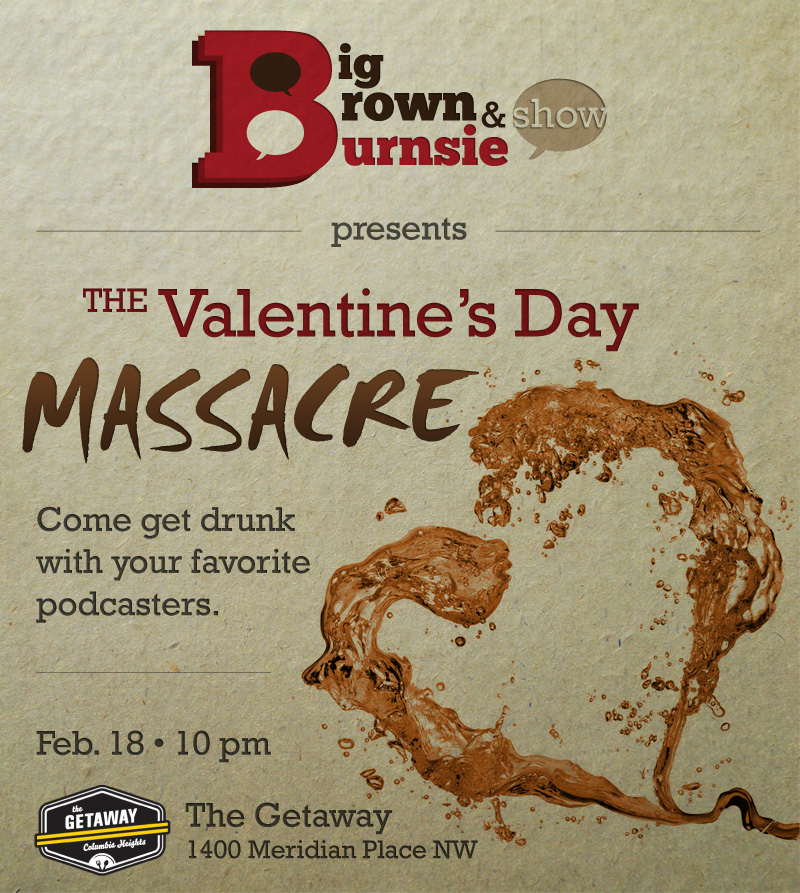 BB&B Valentine's Day Massacre Invite